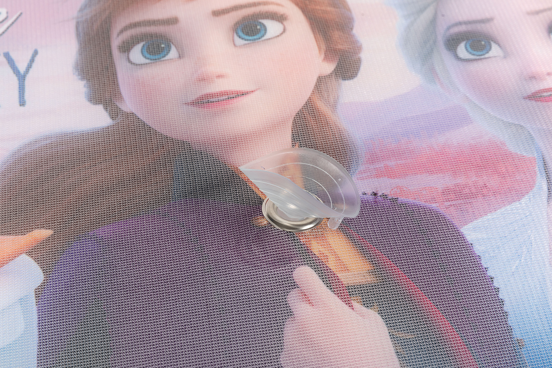 Vorhang-Seite-Sonnenschirm-Auto-Single-Gefroren-Anna-amp-Elsa-Maedchen-Disney Indexbild 4